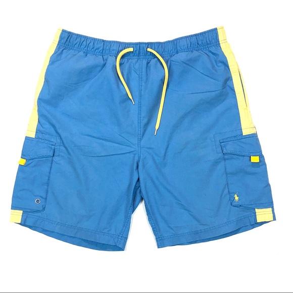 66d4a80c0b Polo by Ralph Lauren Swim | Vintage 90s Polo Sport Mens Trunks Large ...